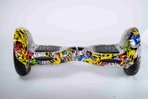 Hoverboard 10 palcov Graffiti - Z predu