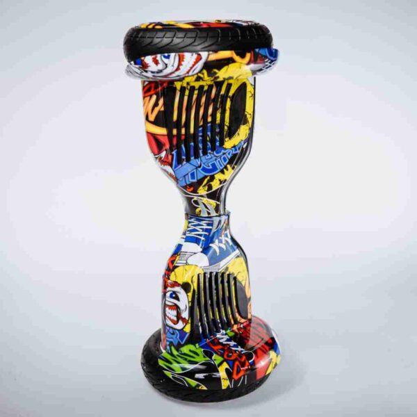 Hoverboard Balance wheel 10,5 Graffiti - Na stojato