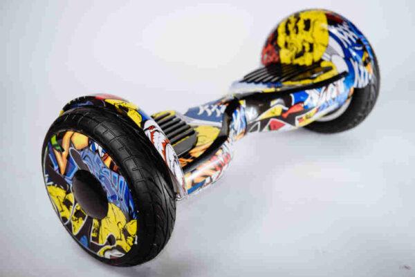 Hoverboard Balance wheel 10,5 Graffiti - Z boku