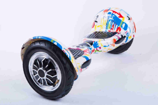 Hoverboard Balancewheel 10 palcov Crazy - Z boku