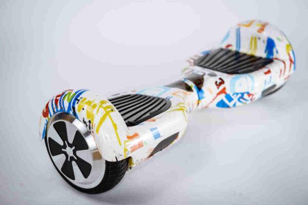 Hoverboard Balancewheel Crazy graffiti - Z boku