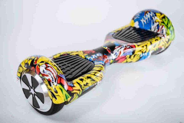 Hoverboard Smart balance Graffiti - Z boku