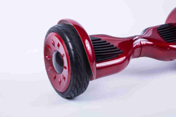 Hoverboard Červený 10,5 palcový Z boku detail