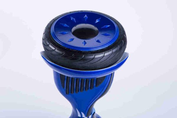 Hoverboard Kolonožka 10,5 palca Modrá koleso detail