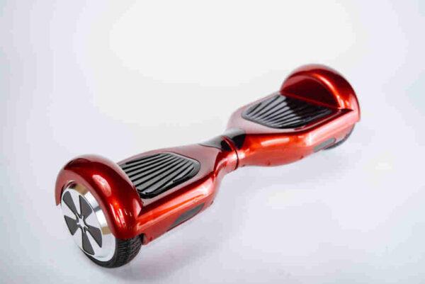 Hoverboard 6,5 červená z boku