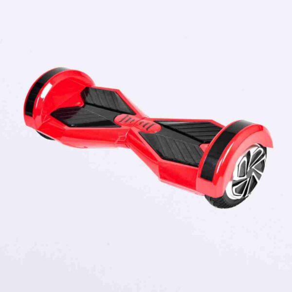 Hoverboard 8 červený z boku