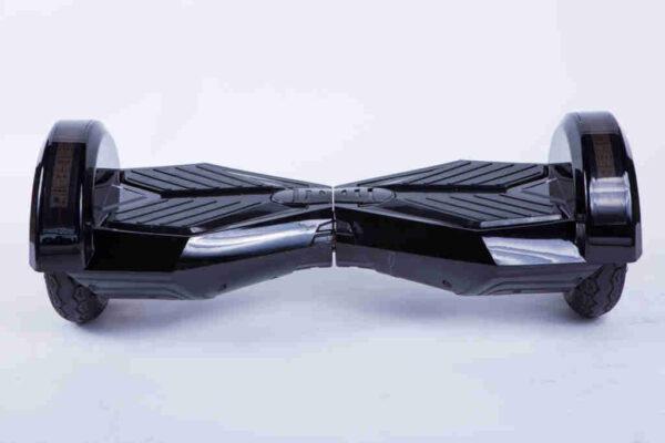 Hoverboard 8 palcový čierny spredu