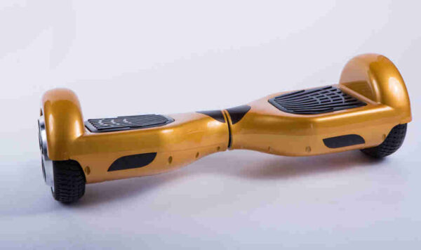 Hoverboard balancewheel zlatý spredu