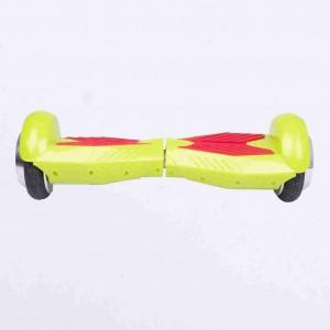 Hoverboard do 50 kg zelená predná strana