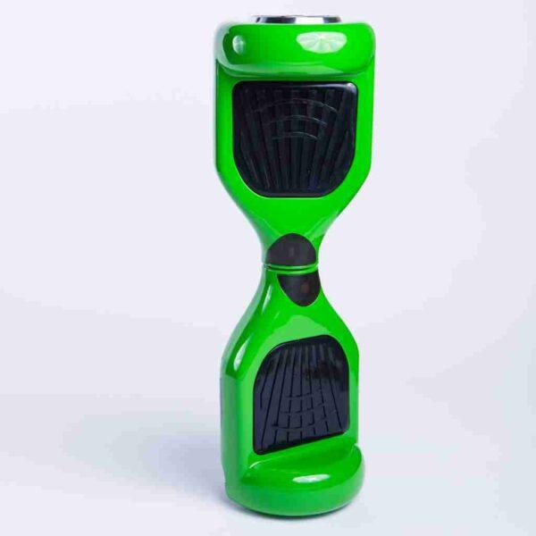 Hoverboard feetboard zelená na stojato