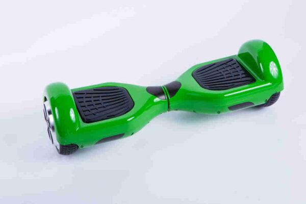 Hoverboard feetboard zelená z boku