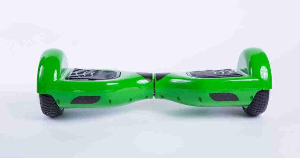 Hoverboard feetboard zelená spredu