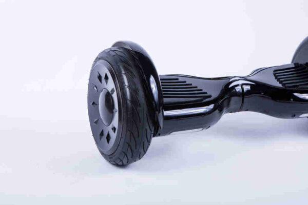 Hoverboard Novinka Čierny z boku detail