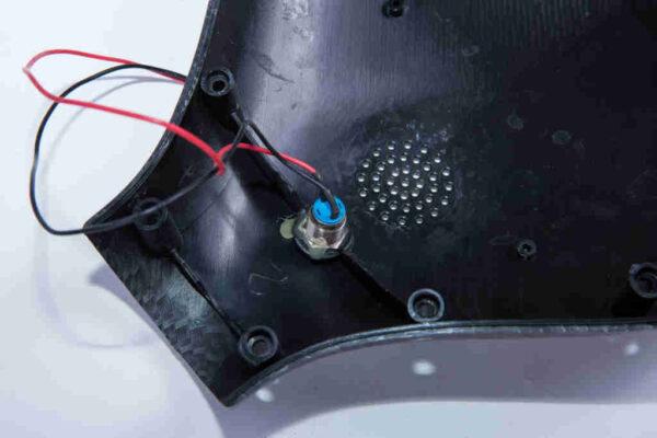 Kryty na 10 palcový hoverboard detail zapojenia konektorov