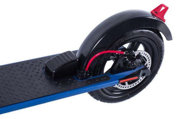 Elektrická koloběžka skolieskami velikosti 8 palců modrá