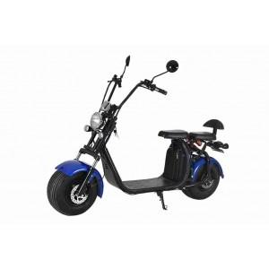 Elektrická harley koloběžka Citycoco modrá