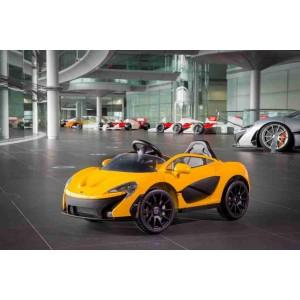 Elektrické autíčko Microlife McLaren žluté