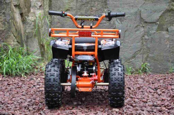 Elektrická čtyřkolka QW MOTO oranžová