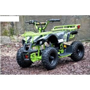 Elektrická čtyřkolka QW MOTO zelená